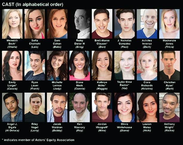 A Chorus Line Cast