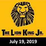 The Lion King Jr. July 19, 2019